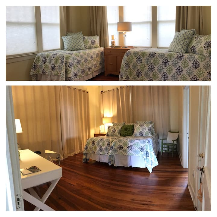 Waterfront Family Suite- King-Twin/Private Bath