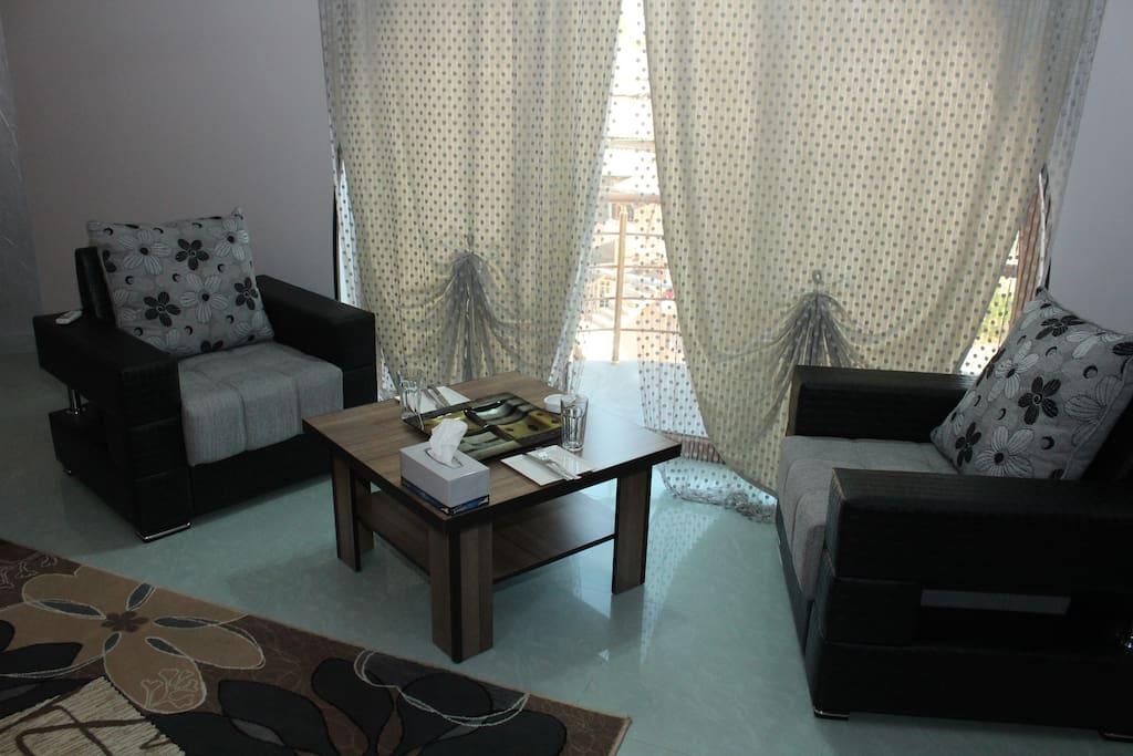 Трехместный номер: кондиционер, гостиный уголок, гардероб, отопление, ковровое покрытие, телевизор с плоским экраном с кабельными каналами