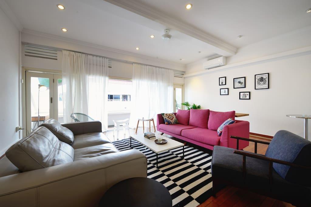 entire flat in tiong bahru appartements louer singapour singapore singapour. Black Bedroom Furniture Sets. Home Design Ideas