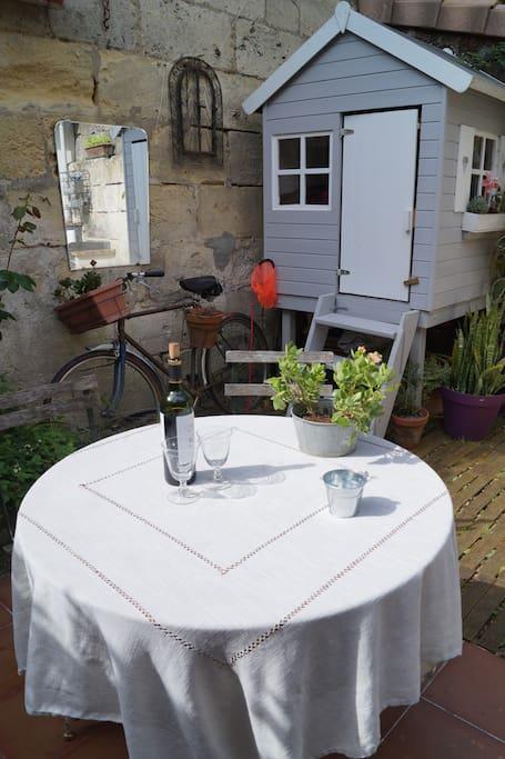 Maison de ville avec jardin maisons louer bordeaux aquitaine france - Maison de ville bordeaux ...