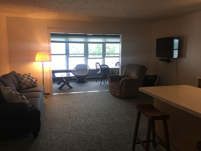 Port Clinton Waterfront Condo next to Jet Express