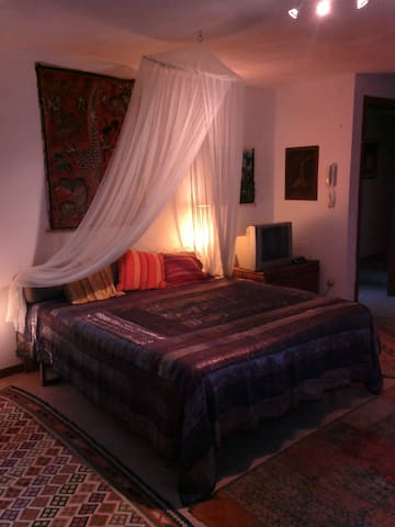 Una camera Etnica originale per voi