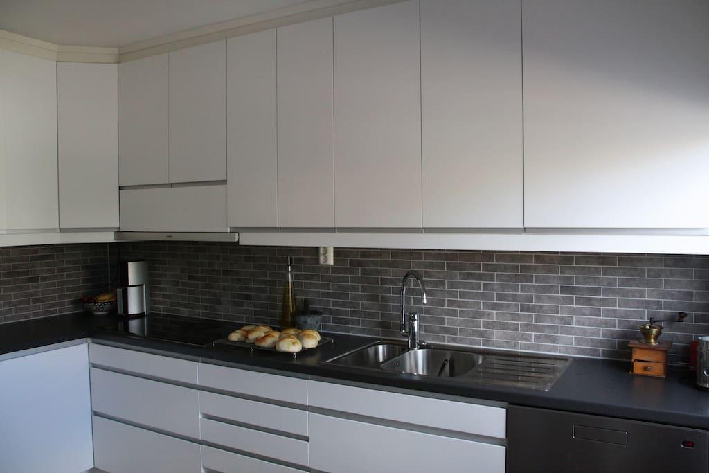 Kitchen, newly renovated