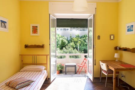 Double private room with balcony