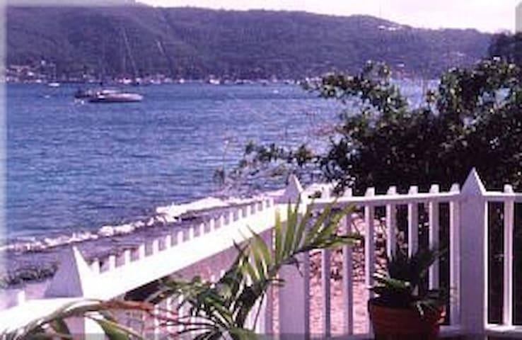 Casa Rosaline Beach Villa, on the beach, breezy - Villa
