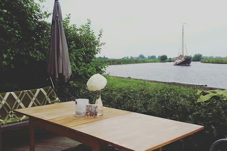 Top 4 pers huisje water & natuur - langelille - Zomerhuis/Cottage
