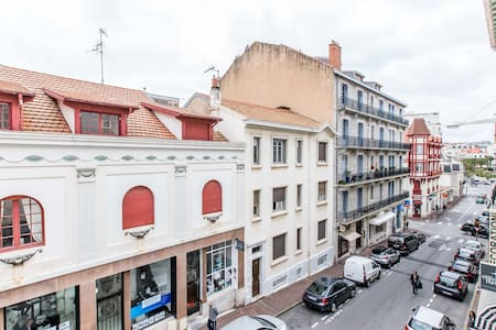 Lovely one room in downtown 500m to Grande Plage - Biarritz - Apartment