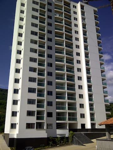 Apto amoblado panorámica San Gil - San Gil - Apartment