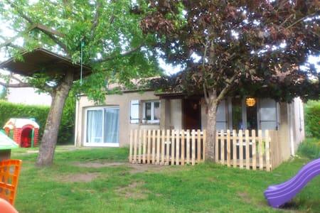 Chambre indépendante vue sur jardin - Saint-Georges-de-Didonne - Casa