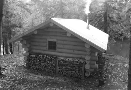New Authentic Log Cabin