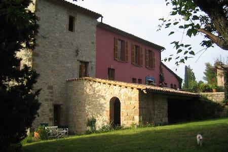 Toskanische Künstlervilla - Civitella