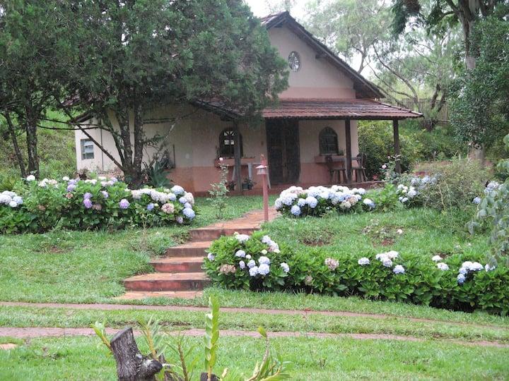 Chalé completo em Caxambu com Terapias a parte
