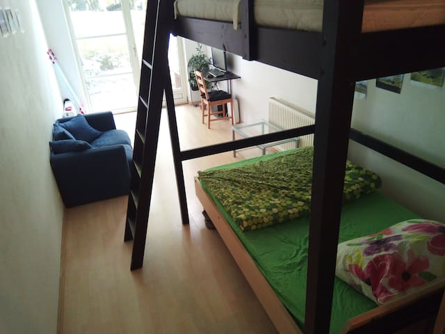 cozy apartment with garden view I