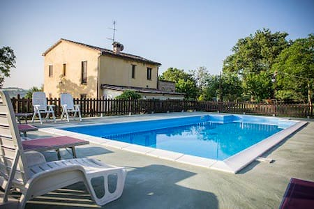 Country villa with italian warmth - Passo Colmurano Sud - Hus