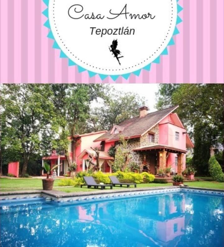 Casa Amor-Tepoztlán