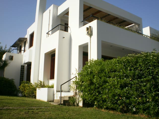 HOME IN THE HILL WITH WIEW IN IONIAN- PYRGOS