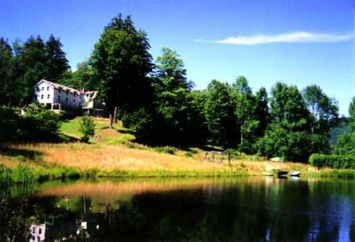 Catskill Mtns Retreat - up to 20 BRs - Big Indian