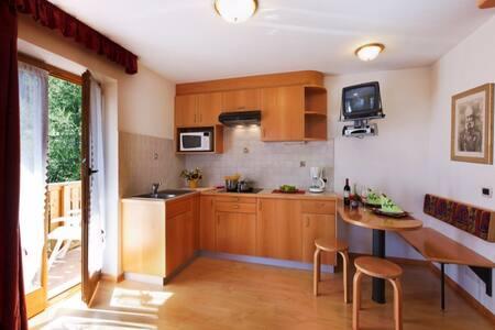 EL MELASTER APARTMENTS @ Sellaronda - Arabba - Lägenhet