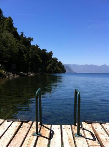 Casa en lago colico cerro centinela - Cunco - Casa