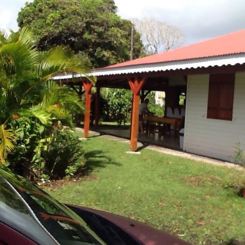Vacances aux caraibes - Trois rivières  - Villa