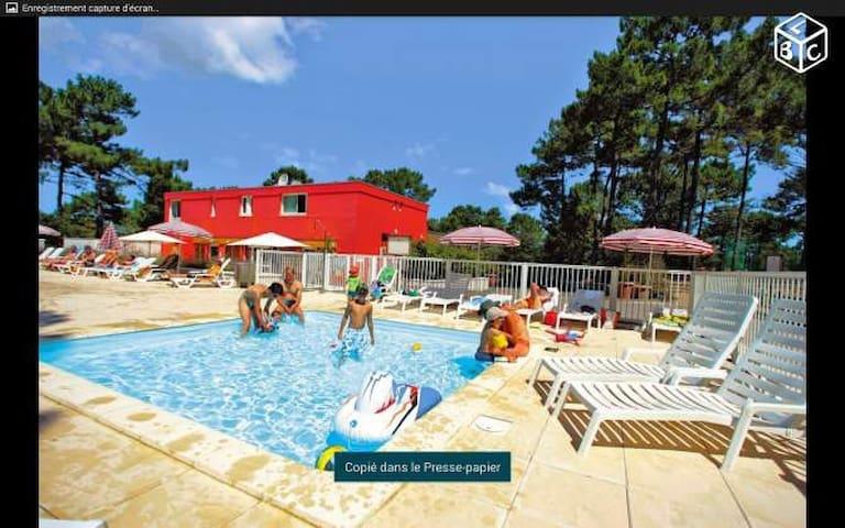 Appartement océan et lac+ piscine