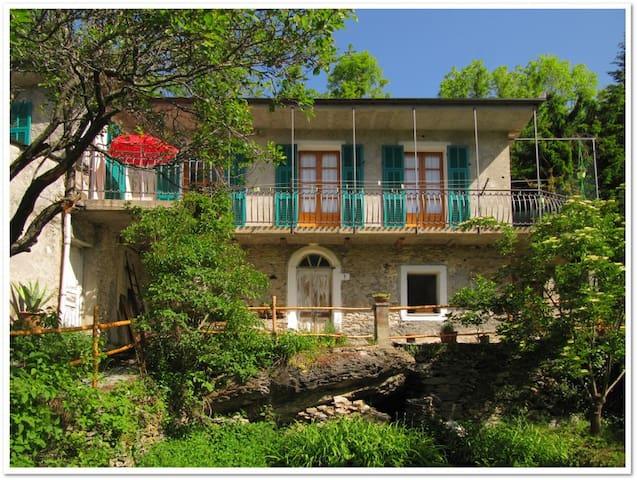 La casa nel bosco - Ormea - Hus