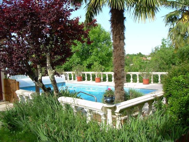 Grande maison avec piscine - Castelnau-Montratier - Ház