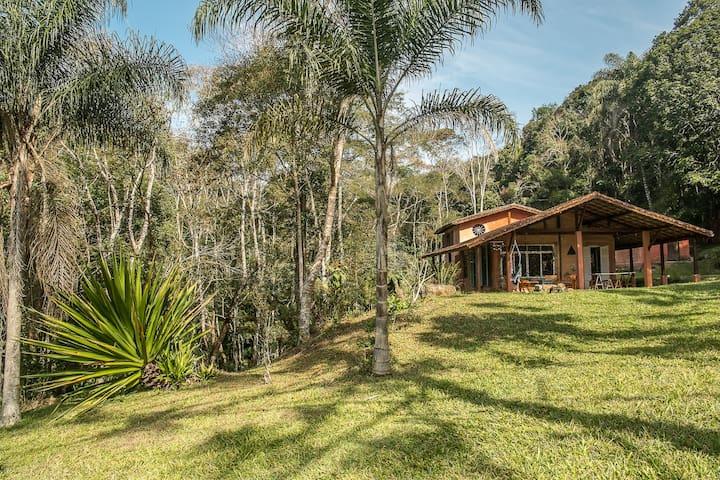 Lavienroça - Air pur et fraicheur Forêt Atlantique - Juquitiba - House