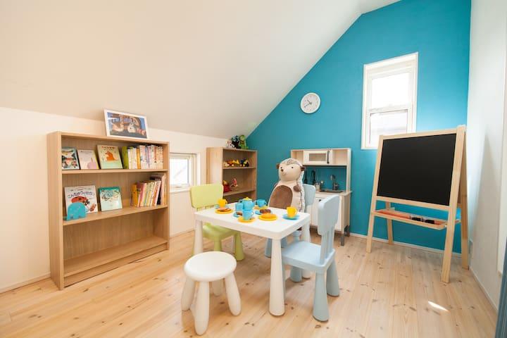 キッズスペース/Space for kids