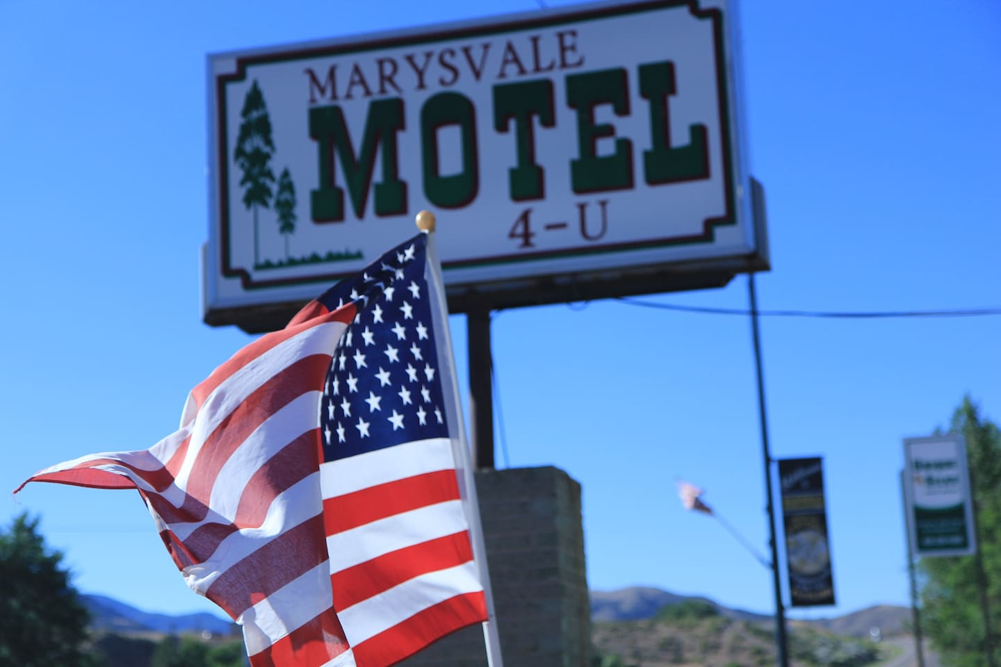 Marysvale Motel 4-U This is what we look like, so you will know that you are at the right place.  We are on Highway 89.