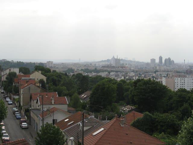 Maison avec vue sur Paris - Les Lilas - House