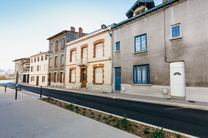 Central Moissac townhouse,  Midi Pyrenees