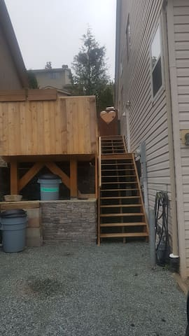 Private deck & seperate entrance