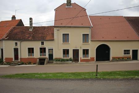 landelijke vakantieboerderij - Rougeux - Haus