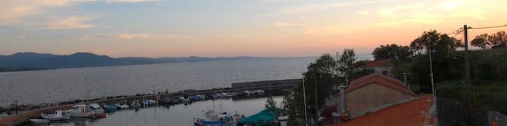 Harbour-view house Molivos-Lesvos