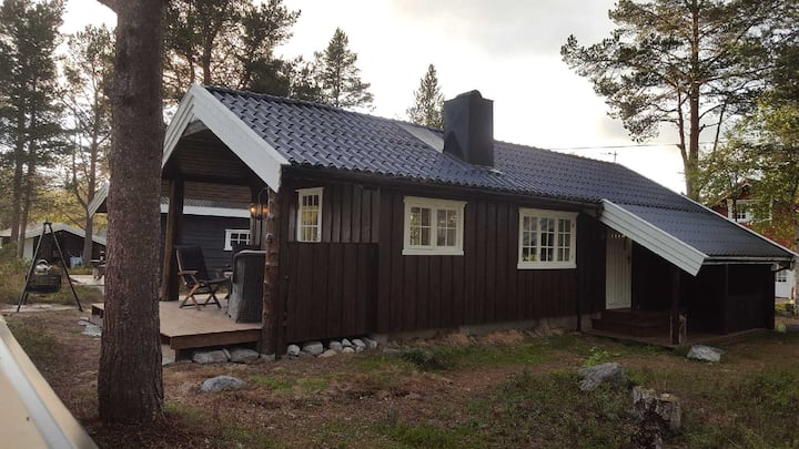 Koselig hytte med anneks på Røros.