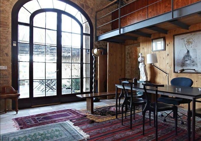 Apartamento-Loft a 3km de la playa - La Riera de Gaiá - Çatı Katı
