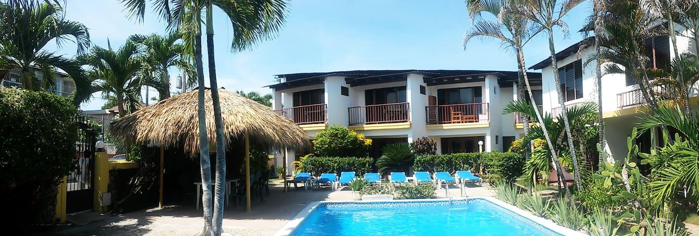 Condos Dominicanos central Sosua 1-bed apt 19 WIFI