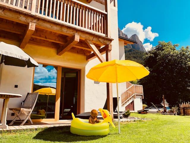 Villa Fichtenheim Wohnung mit privatem Garten