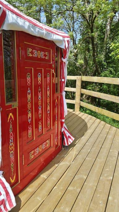 The front door for Barley Top