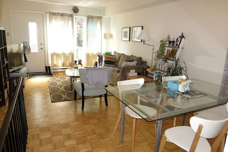 Private room in trendy Leslieville
