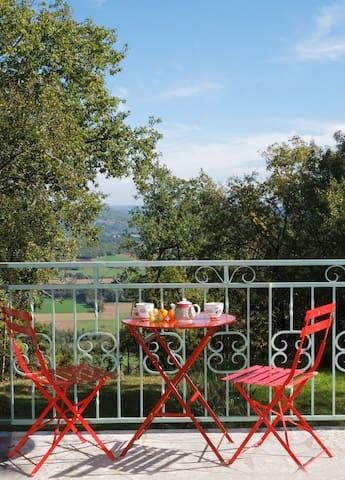 Room for 2 Turquoise - Saint-Antonin-Noble-Val - Bed & Breakfast