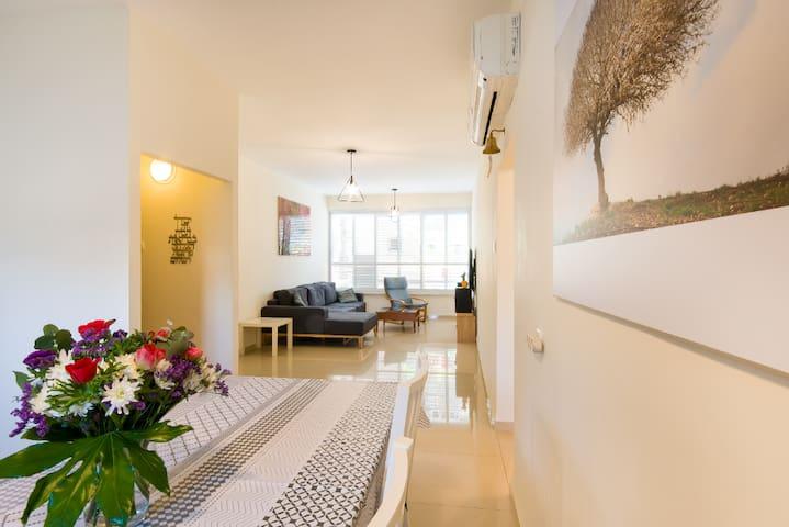 Clean & cozy design