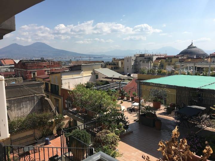 Casetta nel centro di Napoli