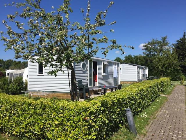 Mobilheim auf dem Camping Scheldeoord Zeeland