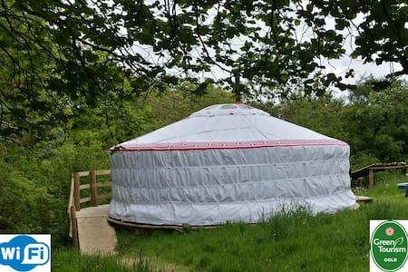 Luxury yurt & private bathroom - Cookbury, Devon - Yurt