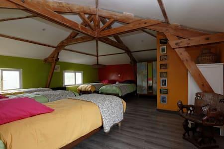 Chambre Voyage 5 personnes - Saint-antonin-noble-val - Bed & Breakfast