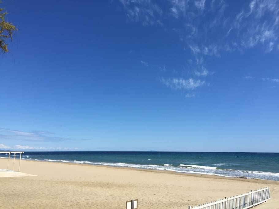 Spiaggia di pertinenza del residence