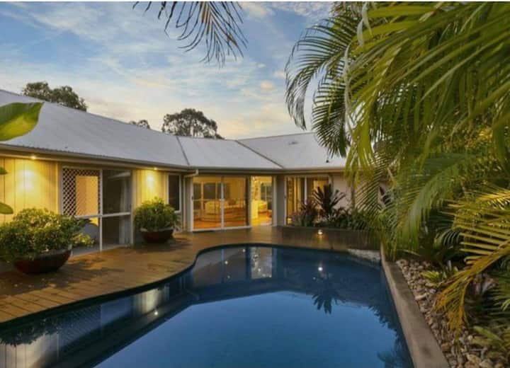 Tropical oasis in the heart of Eumundi