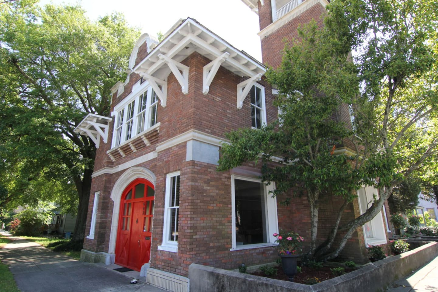 beautiful historic firehouse suite apartments for rent in